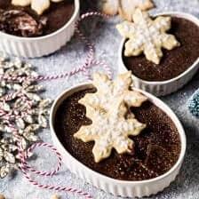 Sugar Cookie Chocolate Crème Brûlée.