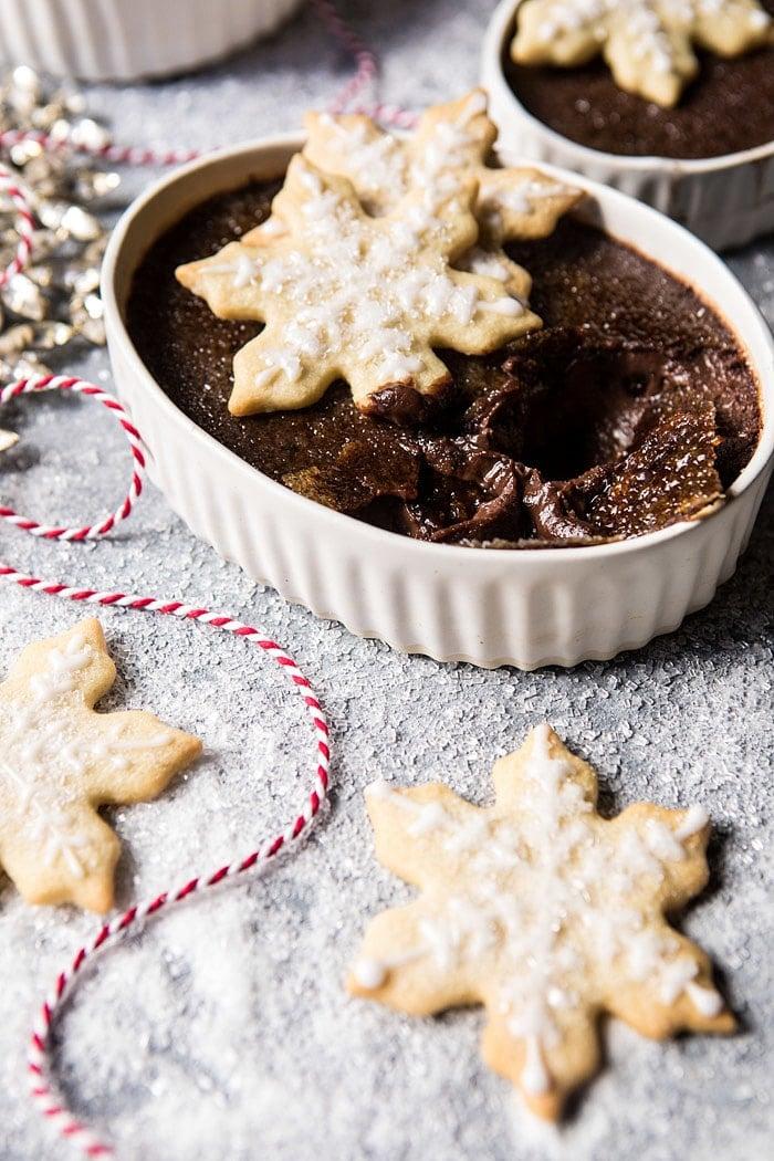 Sugar Cookie Chocolate Creme Brulee | halfbakedharvest.com @hbharvest