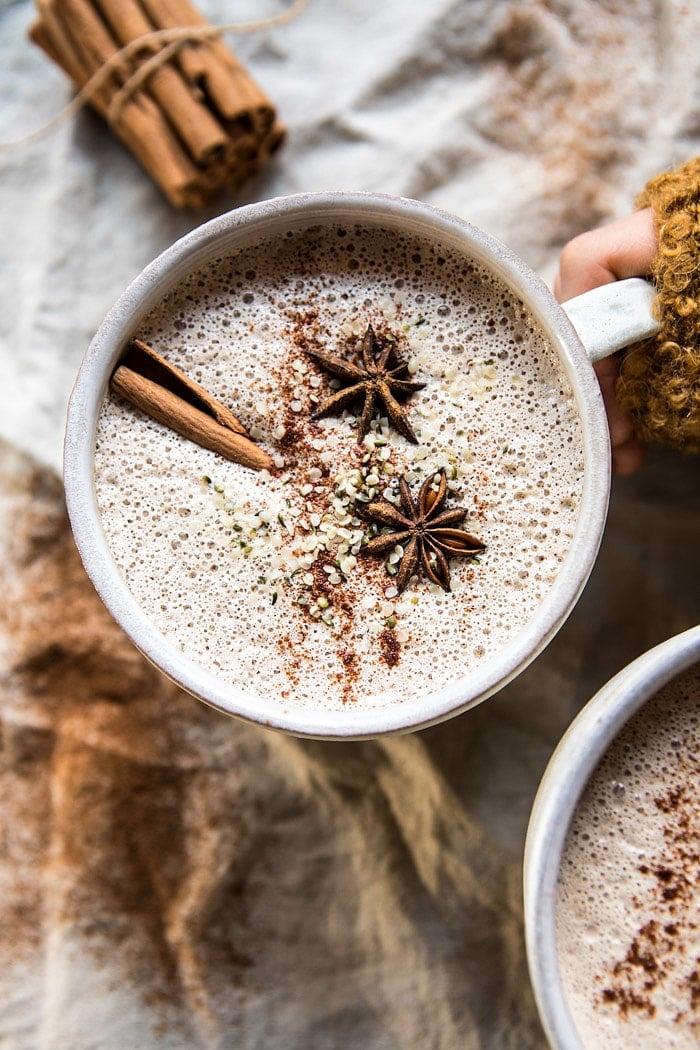 Chai Cashew and Hemp Latte | halfbakedharvest.com @hbharvest