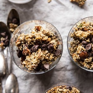 Chewy Chocolate Chip Cookie Granola.