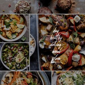 7 Day Healthy Eating Meal Plan | halfbakedharvest.com @hbharvest