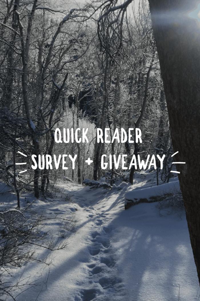 Quick Reader Survey + Giveaway | halfbakedharvest.com @hbharvest