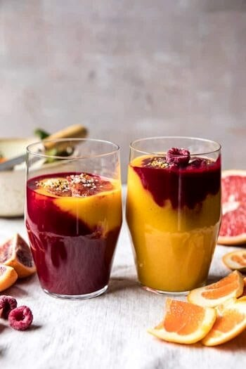 Immune Boosting Winter Citrus Smoothie.