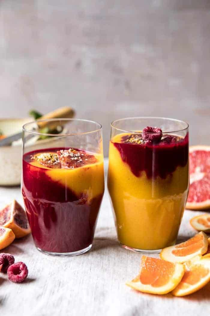 Immune Boosting Winter Citrus Smoothie | halfbakedharvest.com @hbharvest #smoothie #winter #recipe