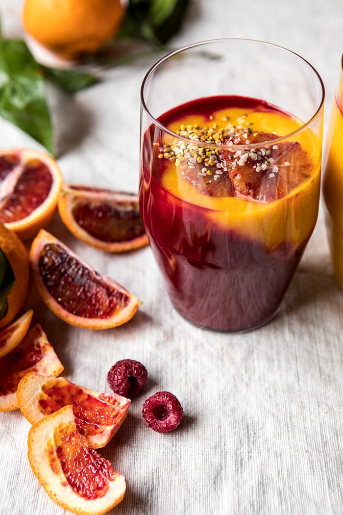 Immune Boosting Winter Citrus Smoothie | halfbakedharvest.com @hbharvest #smoothie #winter #recipe
