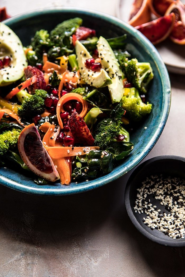 Rejuvenating Winter Broccoli Salad | halfbakedharvest.com @hbharvest
