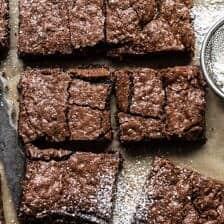 Crinkle Top Brownies.