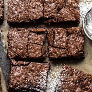 Crinkle Top Brownies.