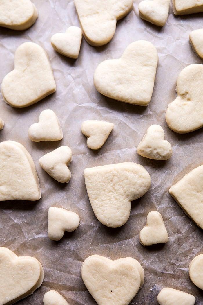 Easy Chocolate Heart Doughnuts | halfbakedharvest.com #valentinesday #doughnut #easy #recipes