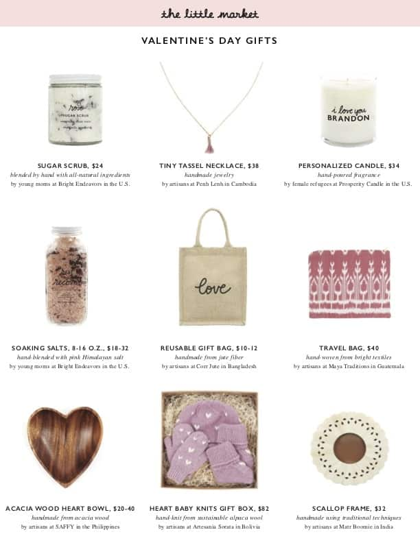 The Little Market Valentine Day Gift Guide 2018 | halfbakedharvest.com #valentinesday #giftguide