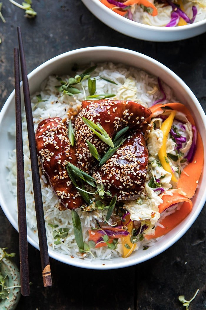 Instant pot sticky korean chicken half baked harvest instant pot sticky korean chicken halfbakedharvest instantpot korean chicken forumfinder Image collections
