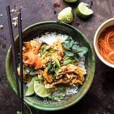 Instant Pot Thai Lemongrass Chicken   halfbakedharvest.com #instantpot #chicken #healthy #easy