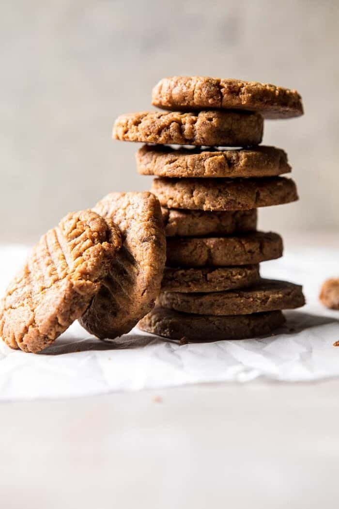 Peanut Cookies stacked