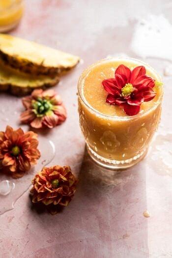 Frozen Brunch Punch   halfbakedharvest.com #brunch #cocktails #easyrecipes