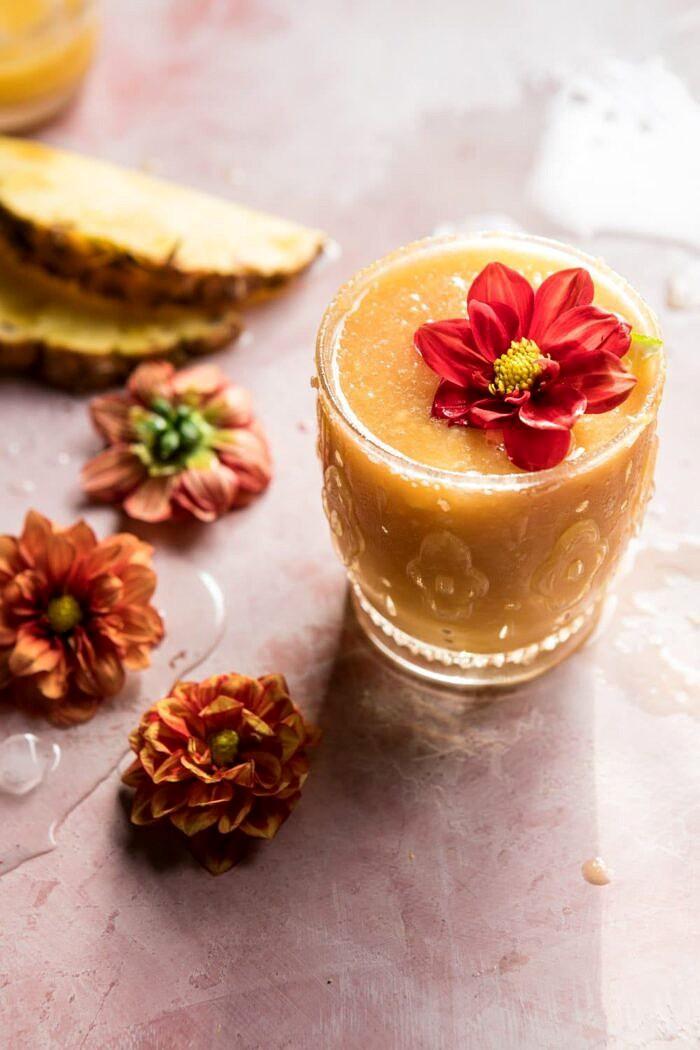 Frozen Brunch Punch | halfbakedharvest.com #brunch #cocktails #easyrecipes