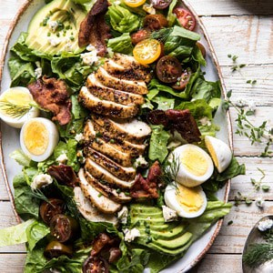 Grilled Balsamic Chicken Cobb Salad.