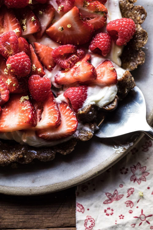 No Bake Greek Yogurt Fruit Tart Recipe