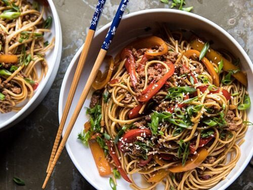 Weeknight 20 Minute Spicy Udon Noodles Half Baked Harvest