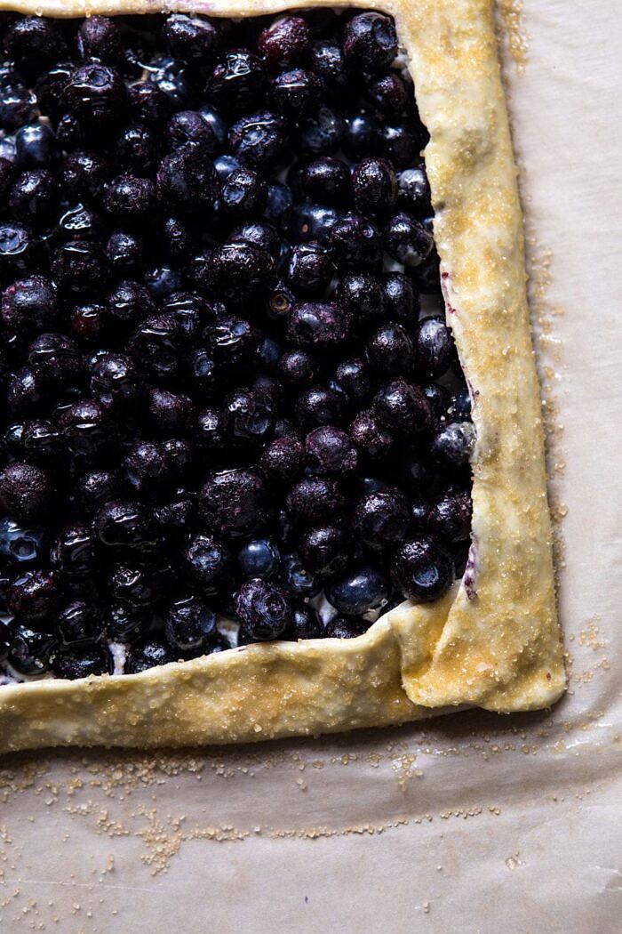 prep photo of Blueberry Chamomile Galette
