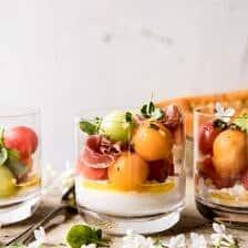 Melon Caprese Salad.