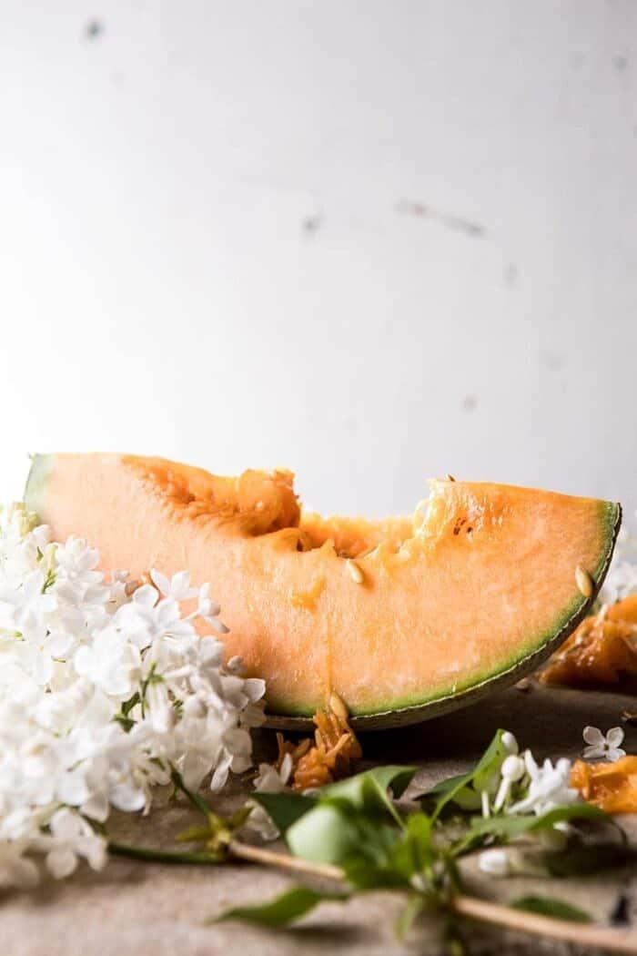Melon Caprese Salad | halfbakedharvest.com #summerrecipes #caprese #healthy #buratta