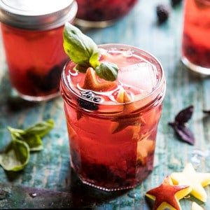 Smashed Berry Rosè Spritz.