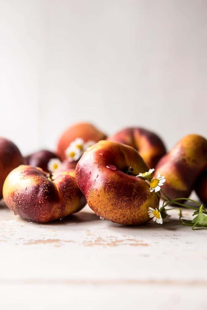 photo of raw peaches