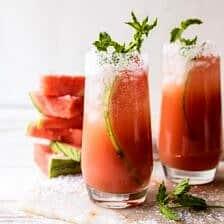 Salted Watermelon Paloma | halfbakedharvest.com #easy #watermelon #summer #tequila