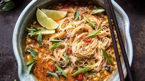 What can i make with rice vermicelli noodles
