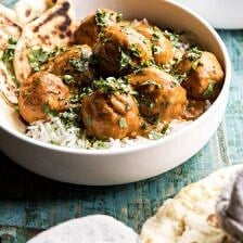30 Minute Butter Chicken Meatballs.