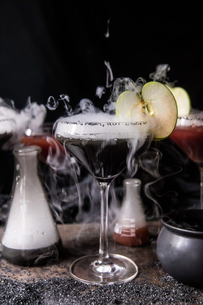 front on photo Poison Apple Martini