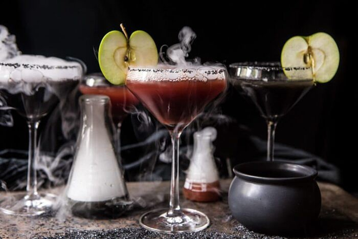 horizontal photo of Poison Apple Martini