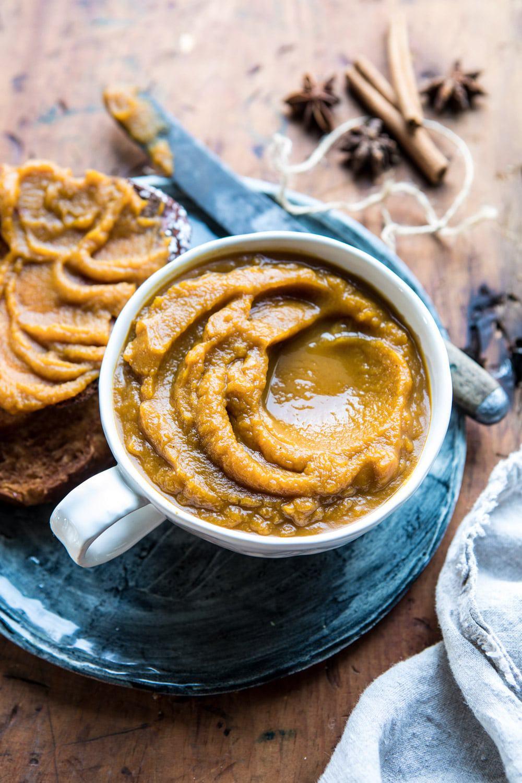 6 Ingredient Spiced Pumpkin Butter | #healthy #pumpkin #fall #autumn #easyrecipes