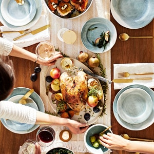 Friendsgiving 2018 with Anthropologie.