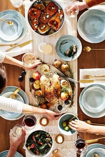Friendsgiving 2018 with Anthropologie | halfbakedharvest.com #home #thanksgiving #anthrohome