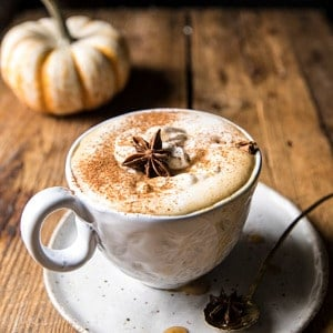 Spiced Pumpkin Maple Latte.