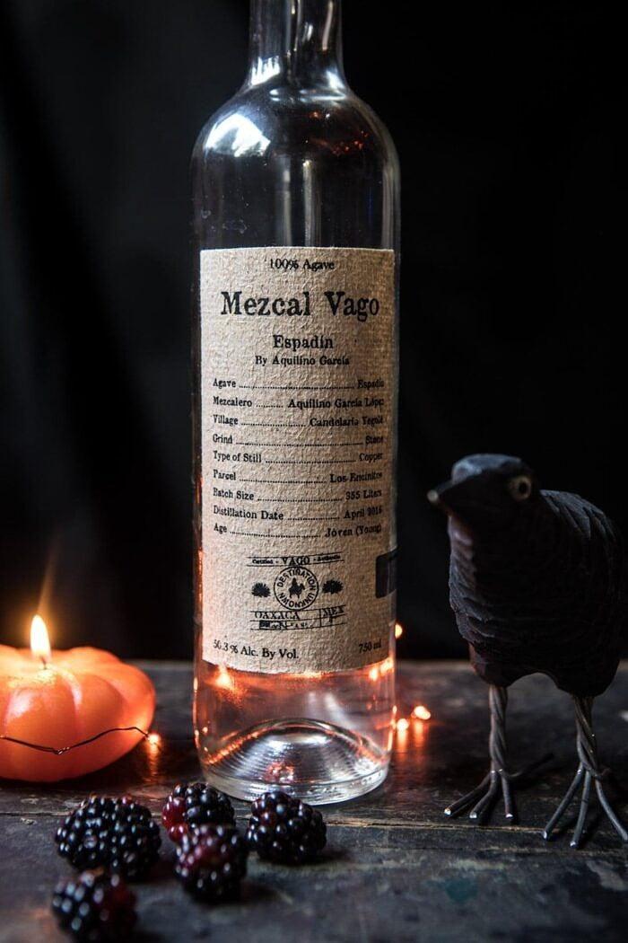 mezcal bottle