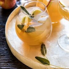 Harvest Apple Ginger Spritz.