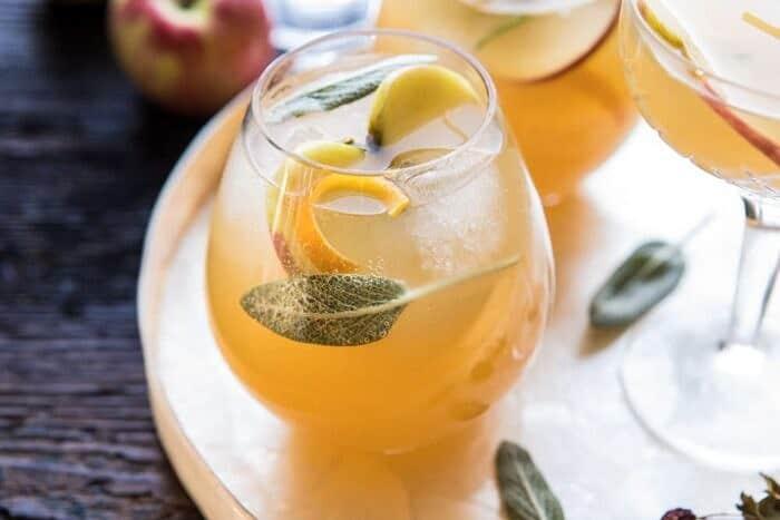 horizontal photo of Harvest Apple Ginger Spritz