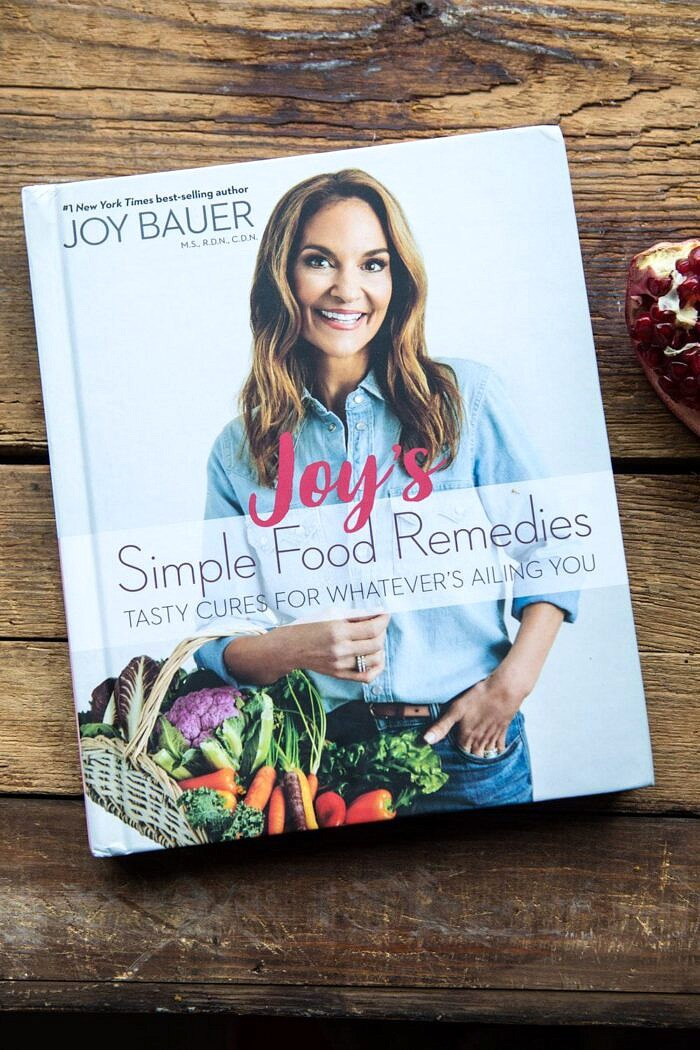 Joy Bauer cookbook