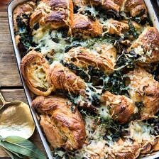 Herby Mushroom Croissant Stuffing.