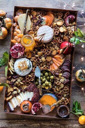 Holiday Cheese Board | halfbakedharvest.com #cheeseboard #holidayrecipes #easyrecipes #thanksgiving #christmas