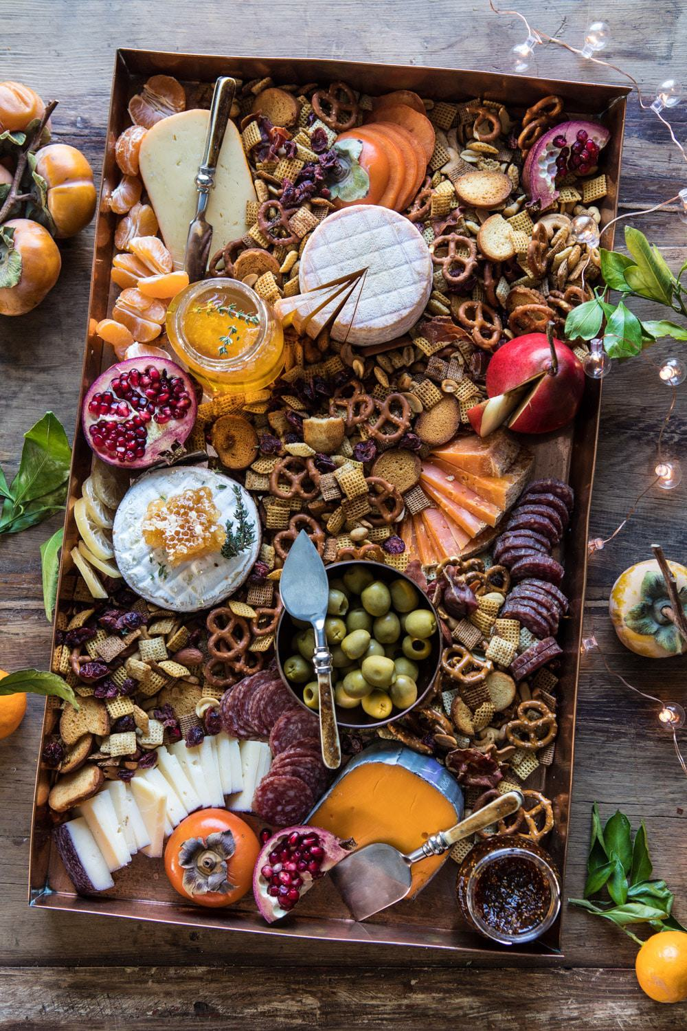 Holiday Cheese Board Half Baked Harvest