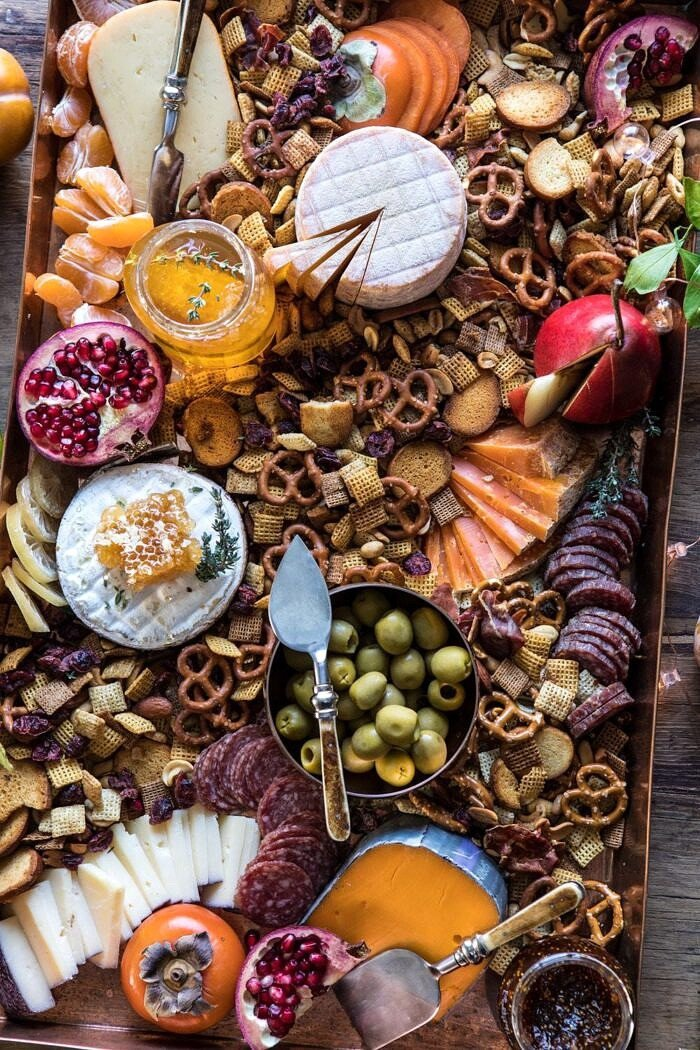 Holiday Cheese Board | halfbakedharvest.com #cheeseboard #holidayrecipes #easyrecipes #thanksgiving #christmas