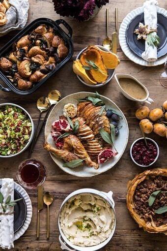 Our 2018 Thanksgiving Menu | halfbakedharvest.com #turkey #thanksgiving #menu #holidayrecipes
