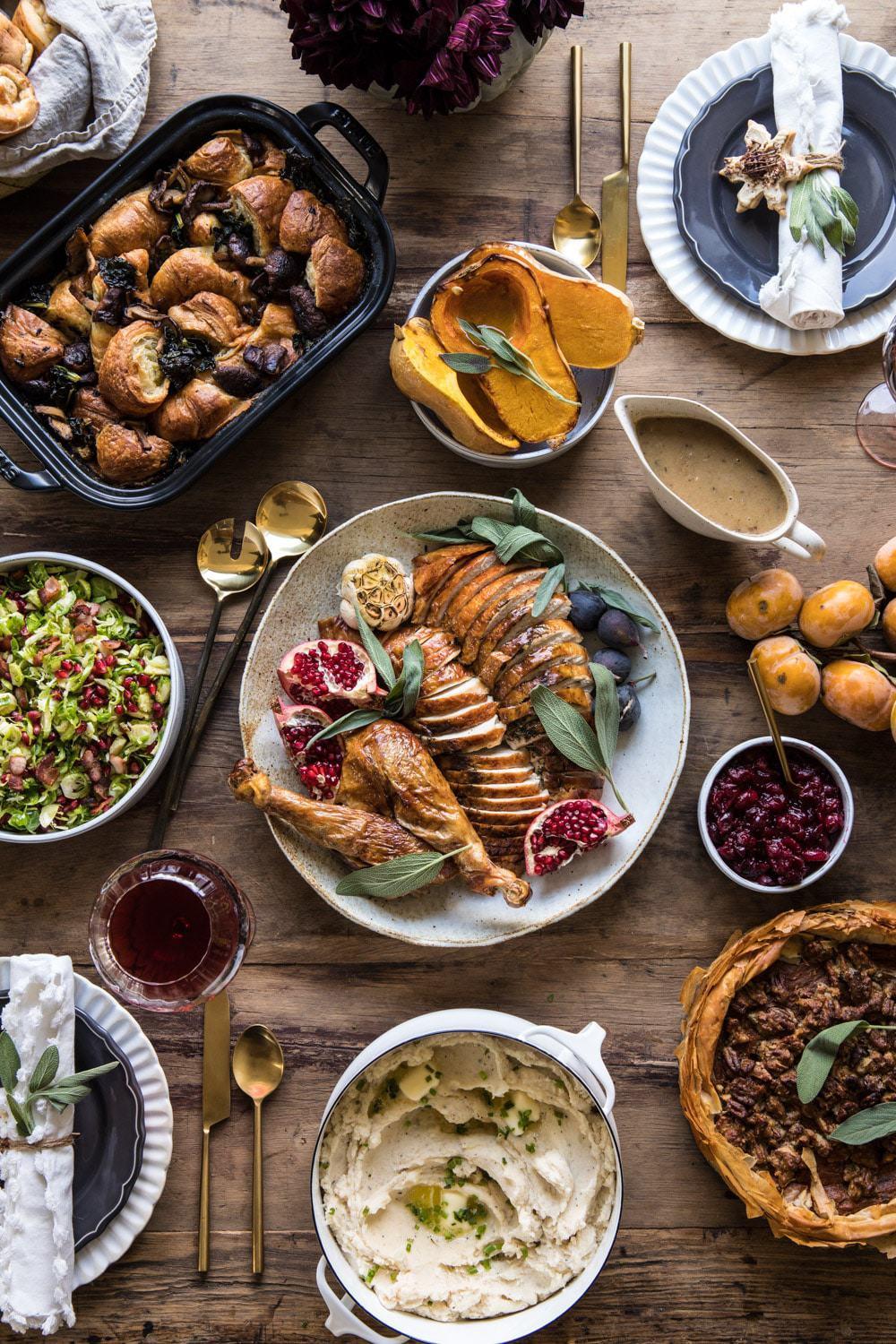 Our 2018 Thanksgiving Menu | halfbakedharvest.com #turkey #thanksgiving #menu #holidayrecipes