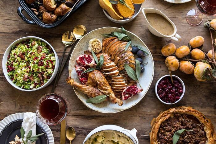 horizontal photo of thanksgiving turkey