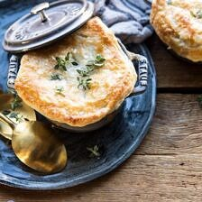 Turkey and Wild Rice Pot Pie.