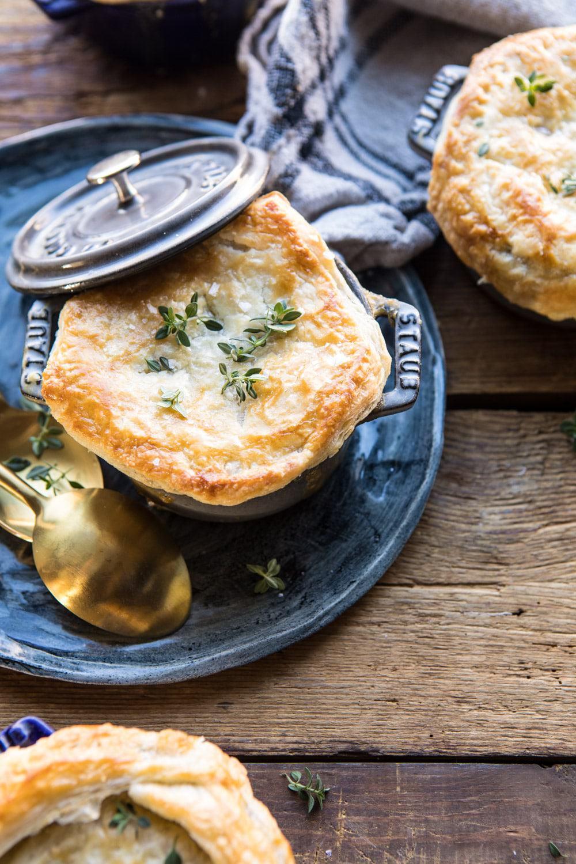 Turkey and Wild Rice Pot Pie | halfbakedharvest.com #potpie #turkey #fall #easyrecipes