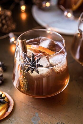 Vanilla Chai Old Fashioned.